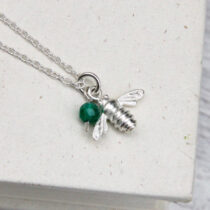 72 Childs Bee Necklace - sil