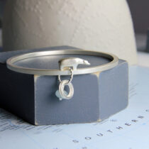 Arctic circle bangle