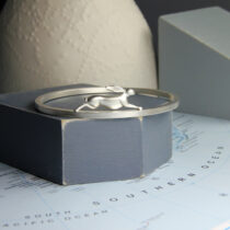 Arctic hare bangle