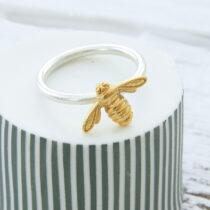 72 Worker Bee Ring - sil