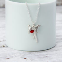 72 Dog Lover Pendant - sil