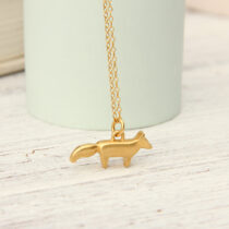 72 Fox Pendant - gp